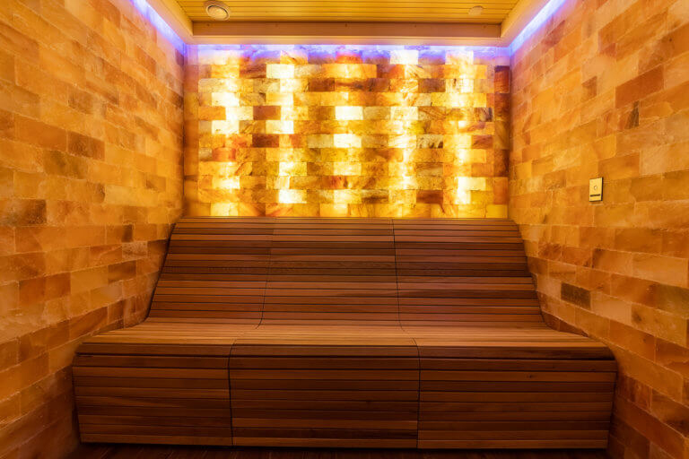 Соляная комната построена ГК Теплоконсалт
